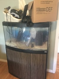 Fluval 55 gallon fish tank, filter, light, stand  Edmonton, T5L