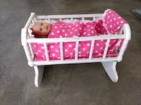 Doll and cradle Leawood, 66224