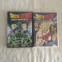 DRAGONBALL Z BROLY MOVIE DVD's  Vancouver, V5T 2M5