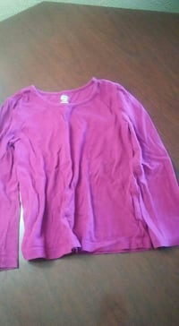 FADED GLORY Fuschia long sleeve cotton  Northfield, 05663