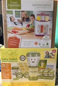 Baby Bullet and Infantino Squeeze Station Bundle Las Vegas, 89156
