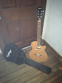 Epiphone Acoustic Electric Guitar w/case & stand Los Angeles, 90032