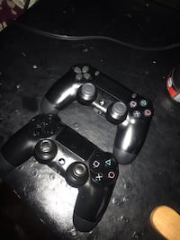 two PS4 controllers Upper Marlboro, 20772