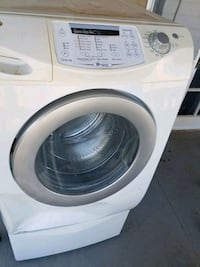 white front-load clothes washer Phoenix, 85006