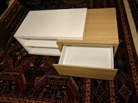 rectangular white wooden coffee table Brampton, L6Y 2Z3