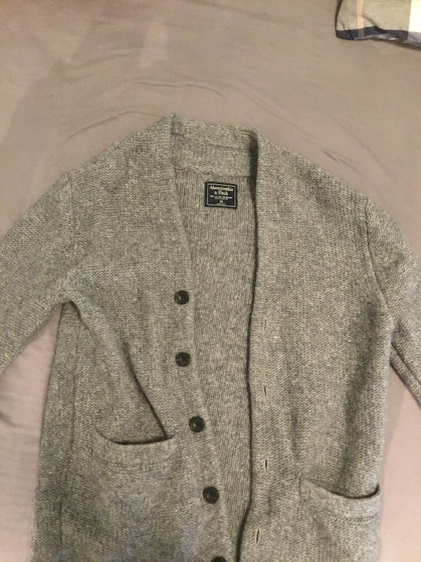Abercrombie and Fitch orginal grå cardigan