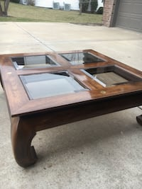 Drexel Asian inspired coffee table