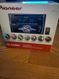 Pioneer am/fm/cd player double din