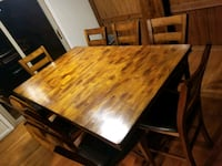 Solid Wood Dining Table--available March 30 Burke, 22015