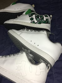 2 Pairs of DC Shoes:: sizes 9.5 & all whites are 10s:: excellent condition::$75 for both Las Vegas, 89110