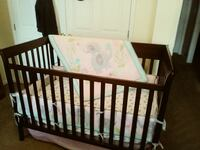 Crib and changing table Clayton, 27520