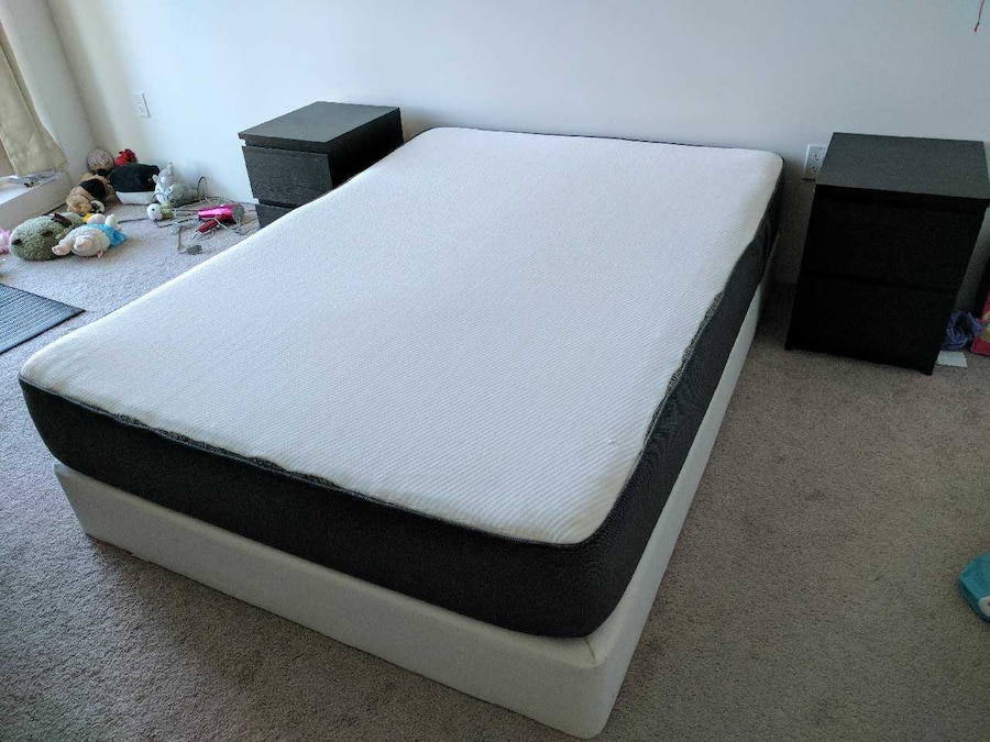 used casper mattress and box spring full size in san francisco. Black Bedroom Furniture Sets. Home Design Ideas