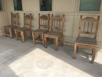 Wooden patio chairs Denver, 80238