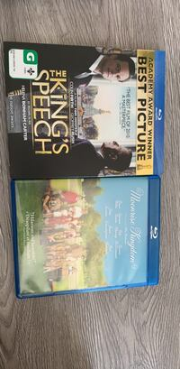 Two assorted blu-ray
