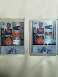 Jeff Teague Signed Rookie Collector Cards