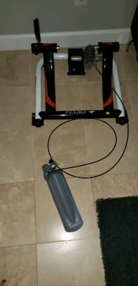 Fluid bike trainer 32 km