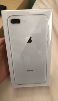 Apple iPhone 8 Plus Silver (256 GB) Factory Unlocked - NEW SEALED