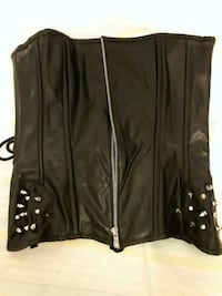 Faux leather bustier with hip spikes Toronto, M3J 1V5