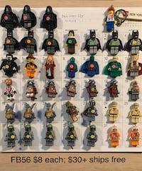 LEGO minifigures! (Prices on each picture) Woodbridge, 22192