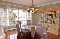 Dining table/6chairs/China hutch  Centreville, 20120