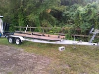 gray and brown boat trailer New Port Richey