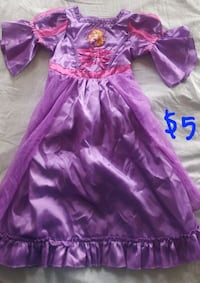 Rapunzel Disney toodler dress $5 Burnaby, V5H 1P2
