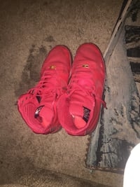 Red Nike High Top Forces Jacksonville, 32211