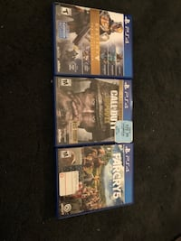 PS4 games $20 each Lancaster