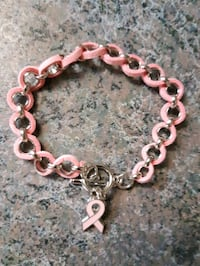 New Cancer ribbon bracelet