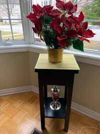 Electric flowers and table