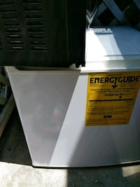 black and white Haier compact refrigerator San Diego, 92115