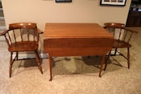 Drop Leaf Table with 4 Chairs Ashburn