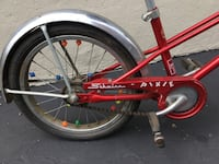 SCHWINN PIXIE red bicycle with training wheels Iselin, 08830