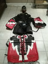 Goalie equipment King City, L7B 1J3
