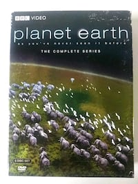 Planet Earth BBC dvd
