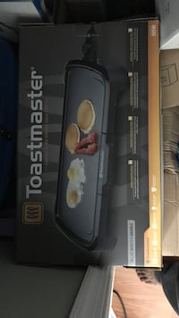Toastmaster Griddle Brand New