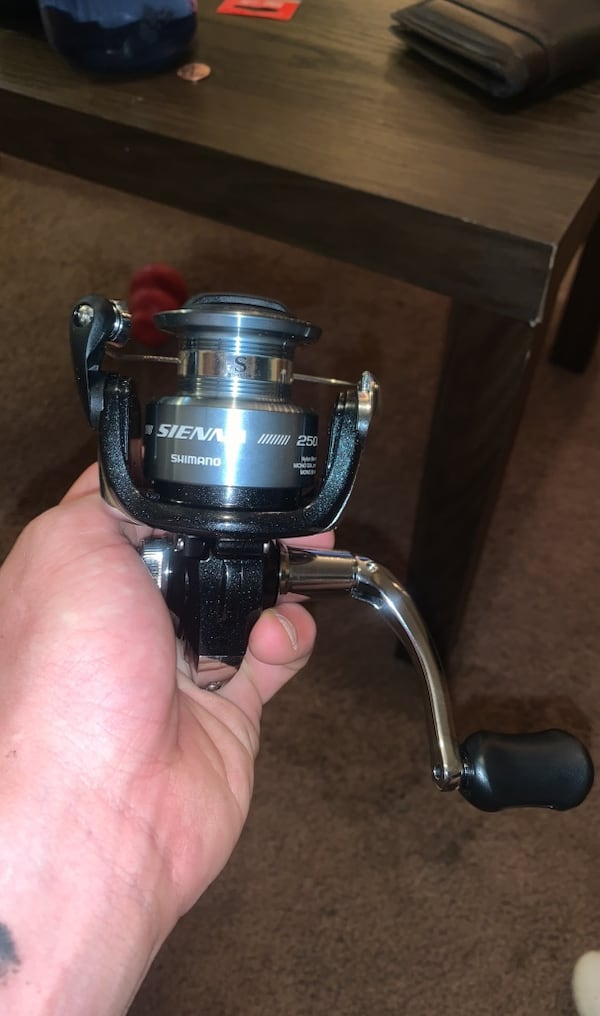 Brand new fishing reel  9886c9e7-b449-49cf-a5cb-e09ec995e53b