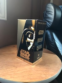 Star Wars  trilogy VHS Markham, L6C