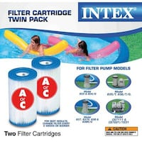 Brand new 2X filter for intex pool Montreal, H9H 2H7