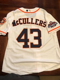 Astros McCullers Championship jersey Cypress, 77433