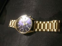 Gold Nixon watch $450.00 in store now