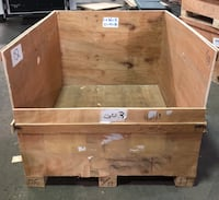 Wood Crates / 52L x 47W x 38H inches *ONLY 1 LEFT Lexington, 40503