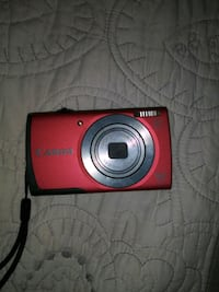 red Nikon COOLPIX point-and-shoot camera Temple City