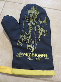 New Michigan Map Oven Mit Alexandria
