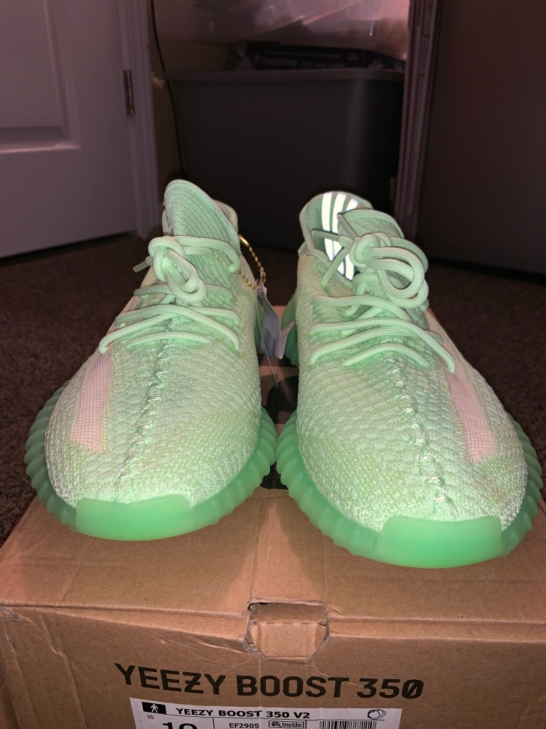 Shop Adidas Yeezy Boost 750 Glow In The