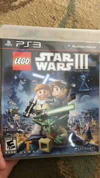 Star Wars III PS3 video game.