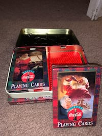 Coca-cola playing cards never used Odenton, 21113