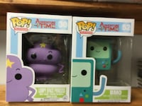 Adventure Time Funko Pop Figures. BMO & FSP Cambridge, N1P