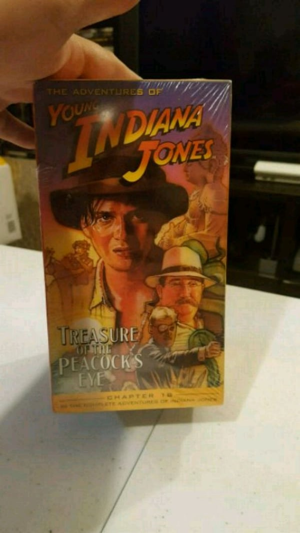 Vintage Indiana Jones VHS Collections  0