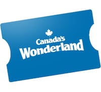 Canada's Wonderland General Admission Passes x 2 Vaughan